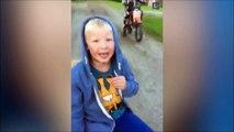 Il se fait arracher la dent par son frère et sa moto