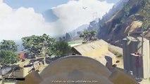 GTA 5 Что будет если Тревор не выпрыгнет из самолета в миссии Турбулентность