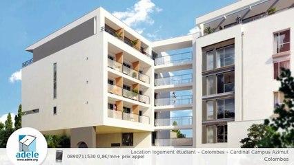 Location logement étudiant - Colombes - Cardinal Campus Azimut