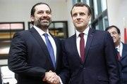 Discours de clôture du Président de la République, Emmanuel Macron lors de la conférence du Cèdre pour le Liban