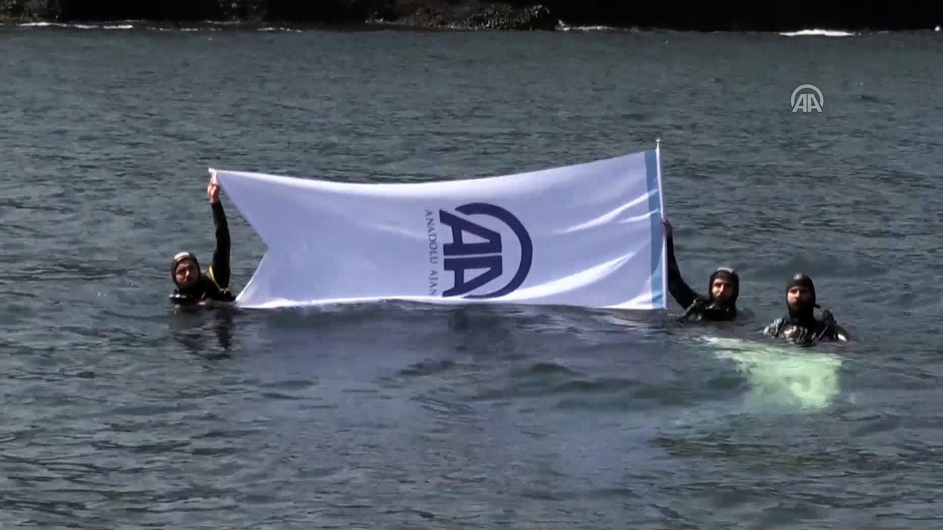 AA'ya Karadeniz'de kutlama - SİNOP