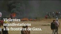 « Marche du retour » : de nouvelles manifestations à Gaza font deux morts et 250 blessés