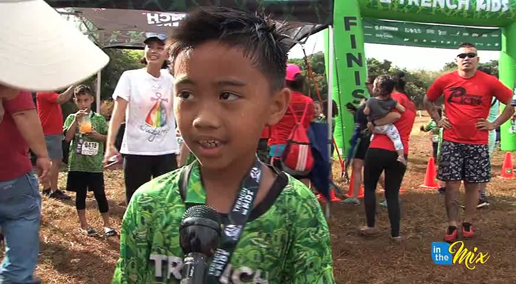 The KUAM Kids did their part to help others, by lacing-up for the 2nd Annual Trench Kids Challenge.