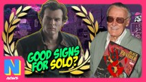 'Star Wars: Solo' Premiers at Cannes: Good Idea? Stan Lee's Blood Comics on Black Market! | NW News