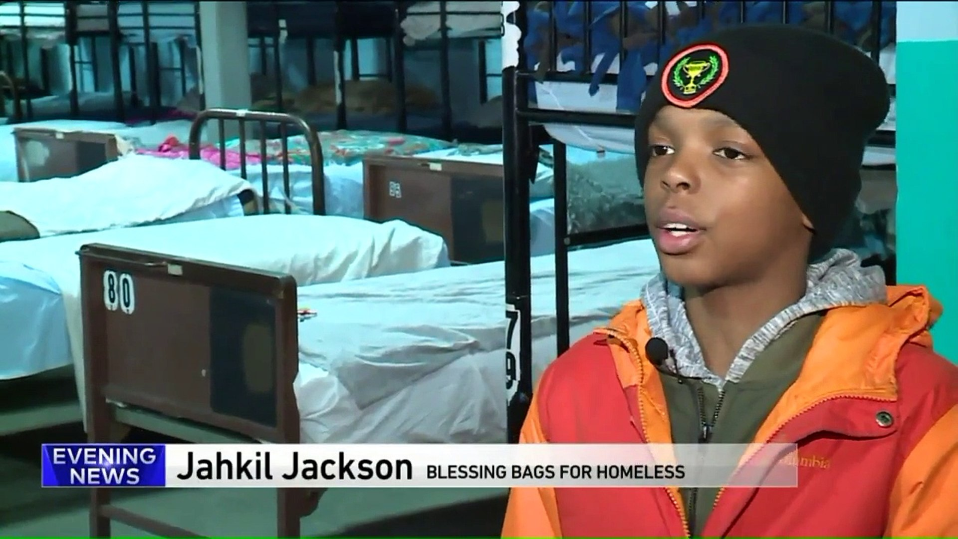 10-Year-Old Gives Thousands of 'Blessing Bags' to Chicago's Homeless