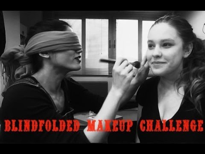 Blindfolded Makeup Challenge - feat. Mary Sinatsaki