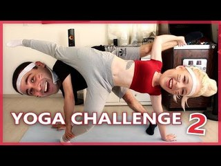 Yoga Challenge (Part 2!) | Cat von K & 2J