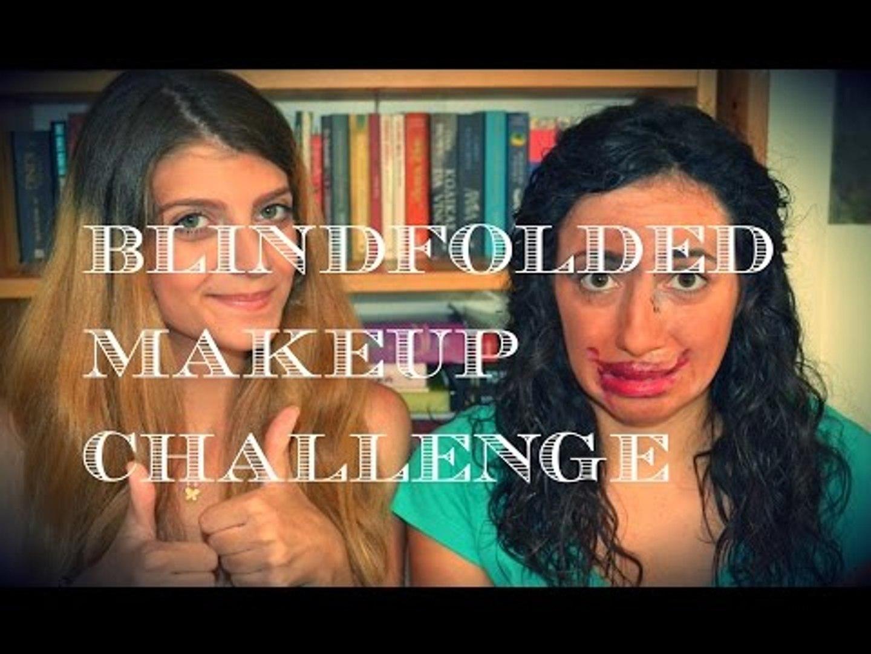 Blindfolded Makeup Challenge Part 2    fraoules22