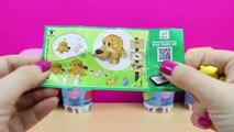 Vídeo educativo para Aprender Colores para niños con Huevos Kinder Sorpresa de Peppa Pig y Play Foam