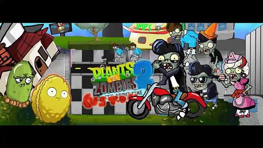 Plants vs Zombies 2 Custom Music - Rocking 50s Demonstration Mini Game