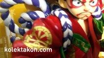 Kabuki Luffy & I.R.O Law Portrait of Pirates One Piece ワンピース Figure Review - (Kolektakon)
