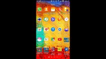 Android Pure Lollipop custom rom for Lenovo a369i - video