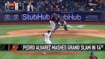 Pedro Alvarez's Grand Slam Downs the Yankees
