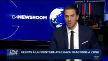 Heurts à la frontière avec Gaza : réactions à l'ONU