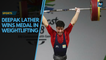 ICYMI   Interested in boxing, Deepak Lather became a weightlifting medalist