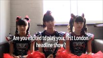 INTERVIEW: BABYMETAL Q&A at London Kentish Town Forum [BABYMETALインタビュ]