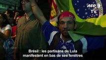 Des centaines de Brésiliens apportent leur soutien à Lula
