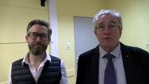 Cyril Fischmeister architecte à Manosque et Jean-Loup Charra architecte à Arles