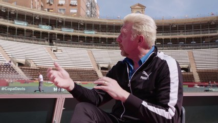 In conversation with Boris Becker