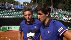 Interview: Herbert and Mahut (FRA)