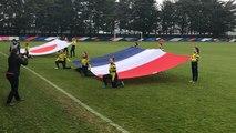 Les France ang'elles poussent l'équipe de France U20