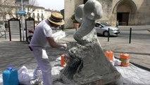 Alpes de Haute-Provence : le crapaud marseillais a sauté dans la biennale de Forcalquier