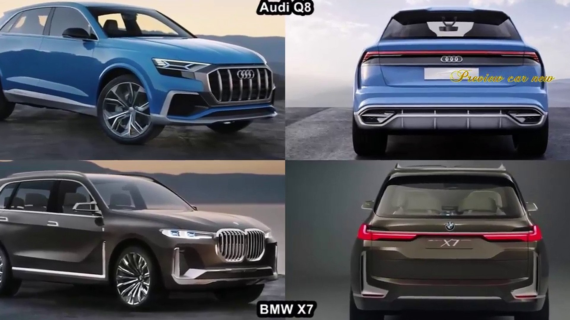 Car And Driver 2019 Audi Q8 Vs 2019 Bmw X7 Review Of Exterior And Interior