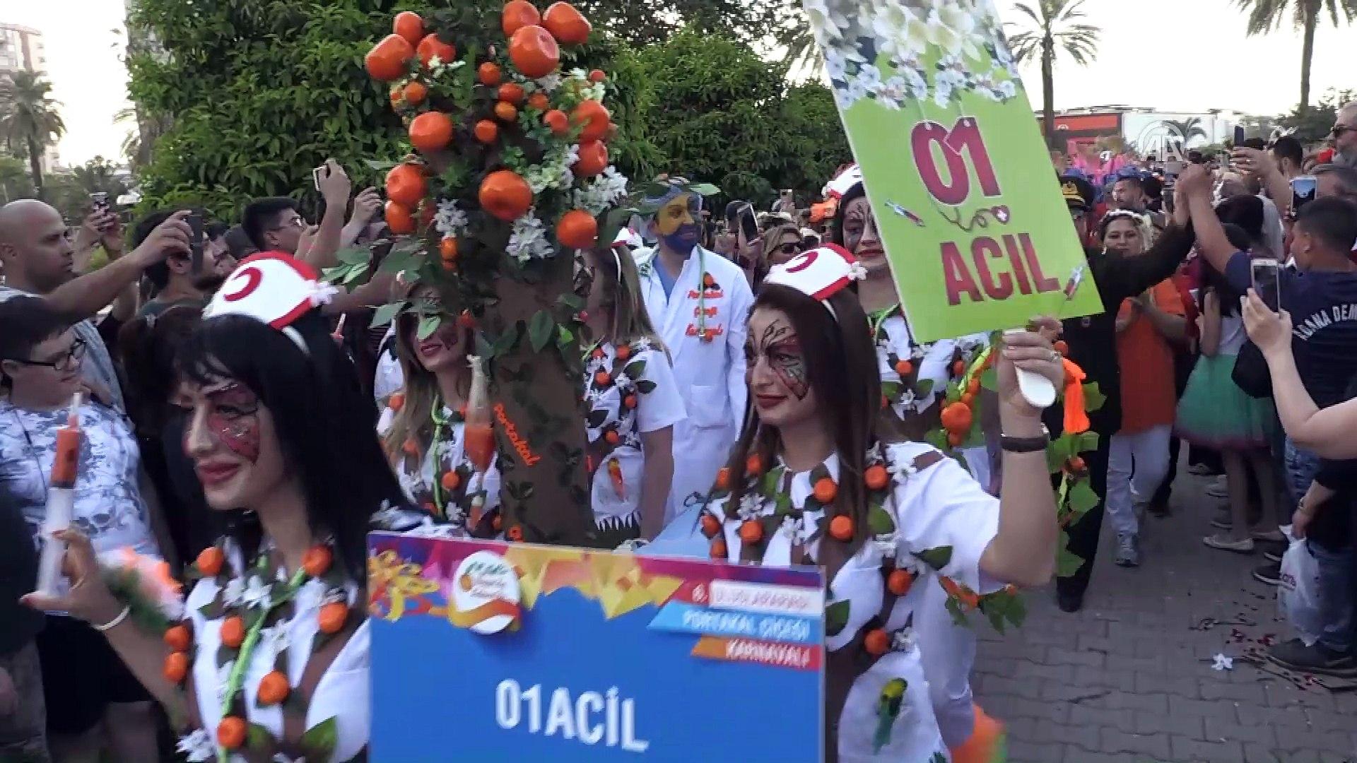 Adana 6 Uluslararasi Portakal Cicegi Karnavali 2