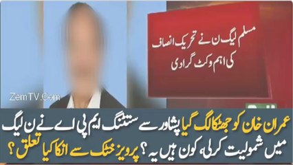 PTI Sitting MNA Quits Party & Join PMLN