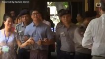 Lawyers For Reuters Reporters Argue For Myanmar Court to Dismiss Case