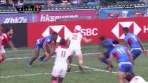 HK Sevens - La France atomise les Samoa