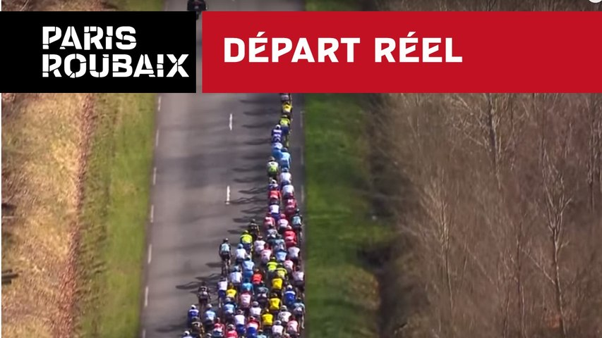 Départ réel - Paris-Roubaix 2018