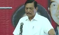 Luhut Jelaskan Pencapaian Jokowi di Rakor Maritim PDI-P