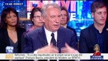 """""""Emmanuel Macron doit mettre le citoyen au cœur des choix et des projets européens"""", François Bayrou"""