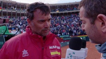 Interview: Captain Sergi Bruguera