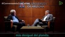 """Correa pregunta a Chomsky: """"Si fuera un líder latinoamericano, ¿cómo enfrentaría la desigualdad?"""""""