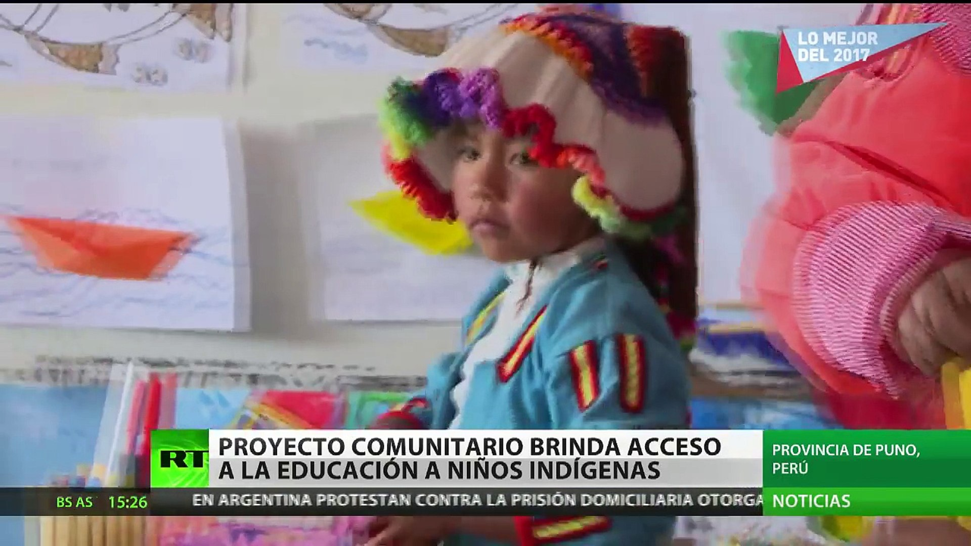 Peru Un Proyecto Comunitario Brinda Acceso A La Educacion A Ninos Indigenas Video Dailymotion