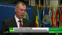 """Rusia: """"El informe de la ONU y la OPAQ sobre ataques químicos en Siria tiene muchas contradicciones"""""""