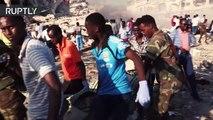 Explosión de un camión bomba deja al menos 185 muertos en Somalia