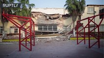 """""""Peor que una pesadilla"""": Los habitantes de Juchitán recuerdan el terremoto mortal"""