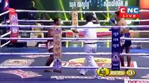 Yuk Yeakple vs Singdam(thai), Khmer Boxing CNC 08 April 2018, Kun Khmer vs Muay Thai