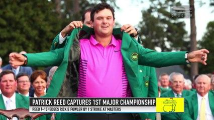 Patrick Reed Wins 2018 Masters