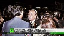 Ordenan exhumar el cadáver de Salvador Dalí