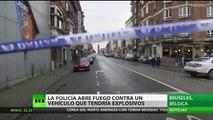 Policía de Bruselas dispara contra un conductor que afirmaba llevar explosivos