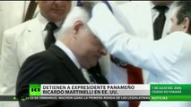 Arrestan en Miami al expresidente de Panamá, Ricardo Martinelli