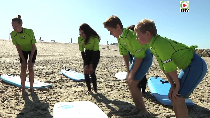 Montalivet: Monta Surf School - Euskadi Surf TV