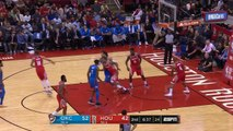 Russell Westbrook Immediately Checks On James Harden After Almost Injuring His Ankles!