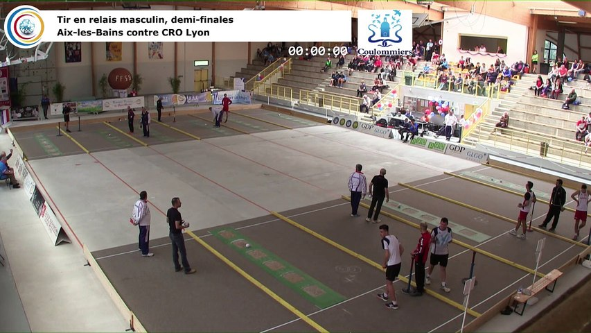 Demi-finales, tir rapide en double masculin, France Tirs, Coulommiers 2018