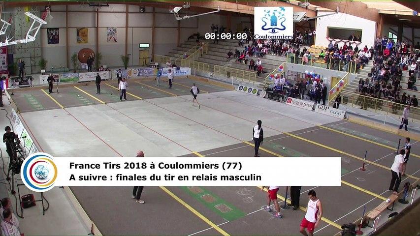 Finale du tir rapide en double masculin, France Tirs, Coulommiers 2018