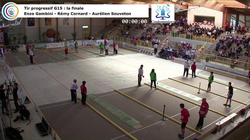Finale du tir progressif G15, France Tirs, Coulommiers 2018